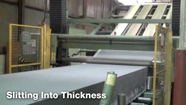 Slitting Into Thickness
